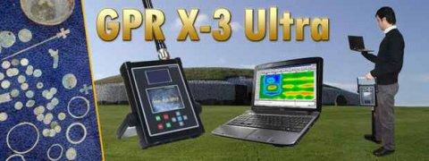 جهازGPR X3 Ultra بنظام التصوير المباشر للكشف عن المعادن