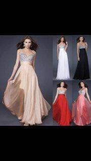 فستان سهرة فاخر
