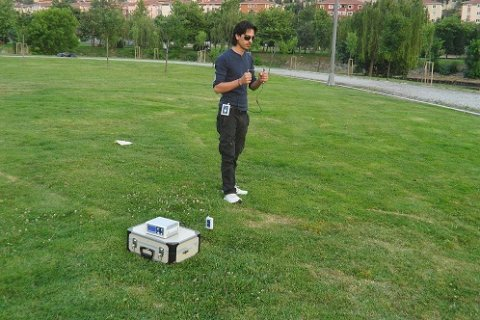 أحدث جهاز  لكشف المياه  يعمل بتقنية الإستشعار عن بعد WF 202 PRO