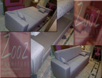 كنبة وسرير ودولاب تخزين ب 400 قماشة مختلفة من معارض زووز