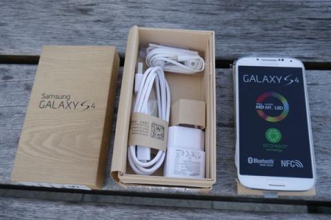 سامسونج جالاكسى S4 I9505 4g LTE الروبوت غير مقفلة الهاتف (سيم ال
