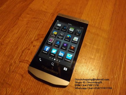 للبيع:Blackberry Porsche Design P9982 Unlocked - Silver - Gold