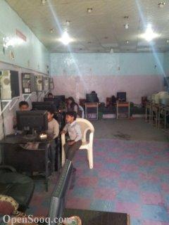 محل أنترنت شغال ومتكامل للبيع وبسعر مغري