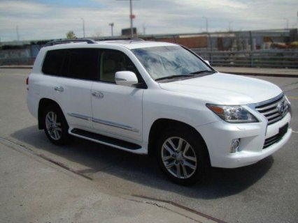 2013 LEXUS LX 570 ON SALES