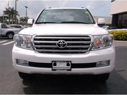 TOYOTA LAND CRUISER 2011 4WD WHITE