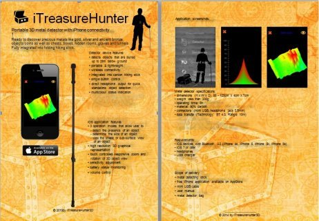 i treasures hunter gold Detectors 3D 2015  جهاز كشف المعادن