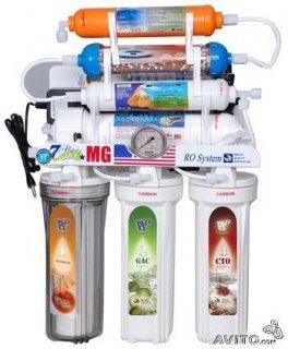 فلتر مياه 7 مراحل امريكي الصنع