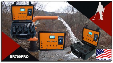 BR700 PRO لكشف المياه الجوفيه والابار