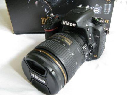 Nikon D750 DSLR Camera with 24-120mm Lens