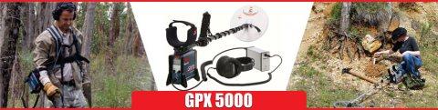 جهاز كشف المعادن والذهب الخام جهاز جي بي اكس 5000