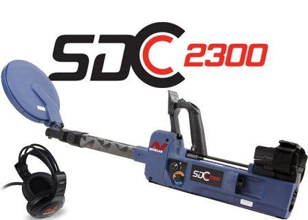 SDC 2300 جهاز كشف الذهب الخام في الأرض والماء