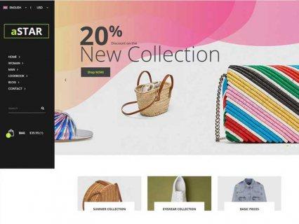 متجر الكتروني متكامل لعرض كافة منتجاتك حديث وعصري بسعر رمزي