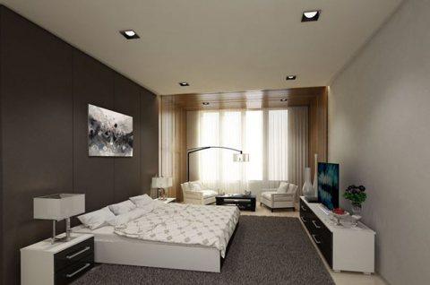 للبيع ارخص غرفه وصاله مفروشه بدبي فقط ب 400 الف درهم بالاقساط علي سنتين