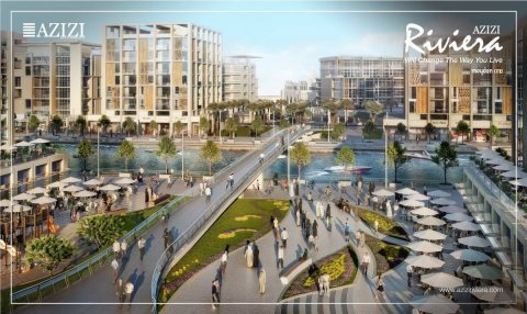 Azizi Riviera is a waterfront community located in Meydan one