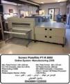 ماكينة طباعة الزنكات سكرين بلاتريت12