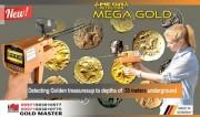جهاز كشف الكنوز الدفينه والاثار ميجا جولد mega gold