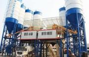 محطة خلط الخرسانة HZS180,مصنع خلط الخرسانة 180 م3/ساعة
