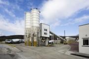 محطة خلط الخرسانة HSZ60,مصنع خلط الخرسانة 60 م3/ساعة